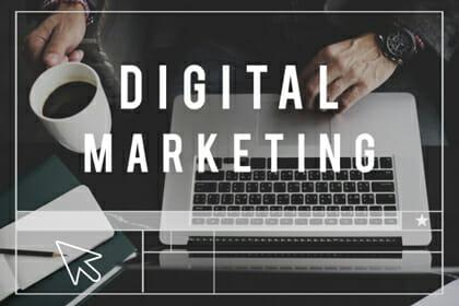 Digital Marketing Agency - laptop screen